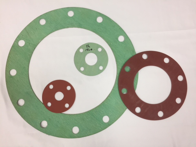 Custom Made Flange Gaskets, Ring & Full Face