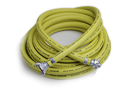 Air Hose Coupled Yellow